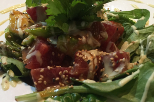 Tuna Poke - delivery menu