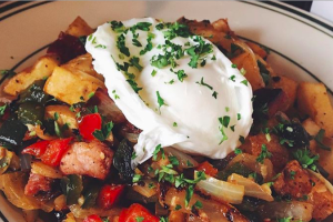 Smoked Sausage Hash w/ Poached Egg - delivery menu