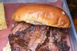 """Meat Candy"" Beef Burnt Ends Sandwich Brunch - delivery menu"