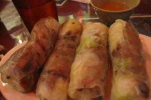 30. Summer Rolls with Rice Paper - delivery menu