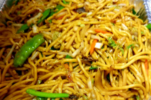 Veg, Pork or Chicken Lo Mein - delivery menu