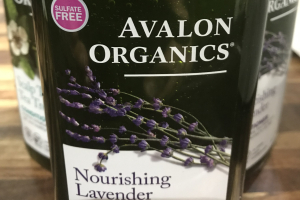 Avalon organics, Shampoo & conditioner - delivery menu