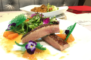 Duck Brest with Orange Sauce - delivery menu