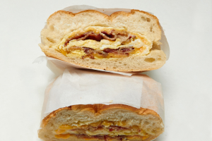 Bacon, Egg and Cheese Roll - delivery menu