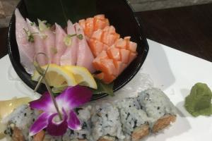 Tri-Color Sashimi - delivery menu