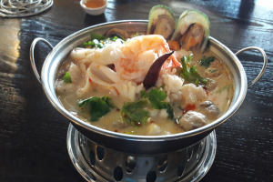 Seafood Coconut Soup - delivery menu