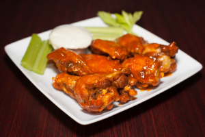 6 Wings, Fries, and a Drink - delivery menu