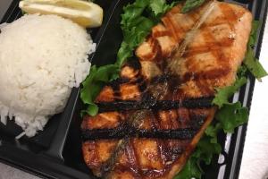 Grilled Salmon Teriyaki Fillet - delivery menu