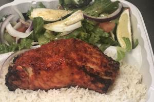 Tandoori Salmon Kabob - delivery menu