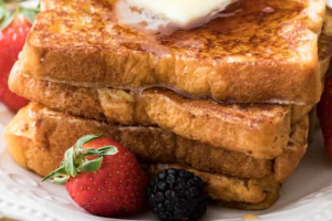 Plain French Toast - delivery menu
