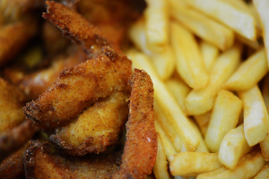 6-Piece Fried Shrimp with Fries - delivery menu