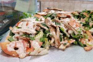 Grilled Chicken Caesar Pie - delivery menu