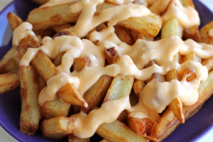 Cheese French Fries - delivery menu