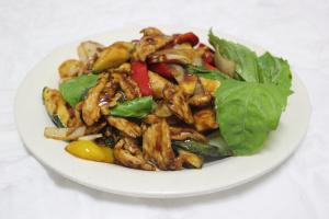 91. Spicy Basil Chicken - delivery menu