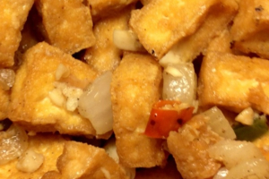 2. Salt and Pepper Tofu - delivery menu