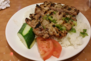 118. Ginger Chicken with Rice - delivery menu