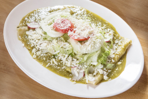 16. Enchiladas de Pollo Platter - delivery menu
