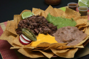 1. Nachos with Cheese - delivery menu