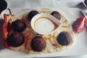 Falafel - Humus Dinner - delivery menu