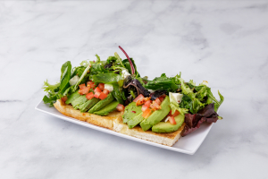 Classic Smashed Avocado Toast - delivery menu