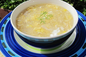 Chicken and Corn Soup - delivery menu