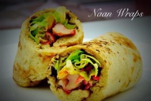 Vegetable Samosa Masala Wrap - delivery menu