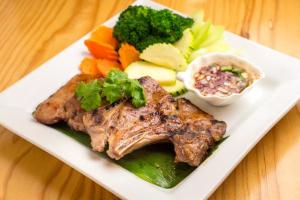 Grandma's Pork Chop - delivery menu