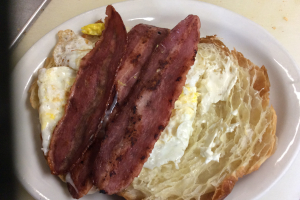 Egg with Turkey Bacon Sandwich - delivery menu