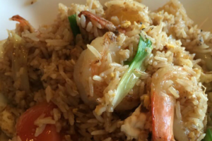 Fr2. Pineapple Fried Rice - delivery menu