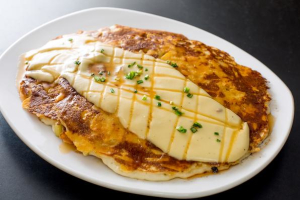 Mac and Cheese Pancakes  - delivery menu