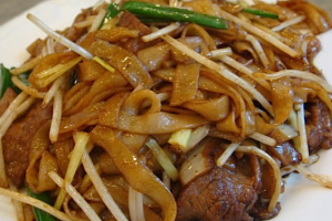 213. Beef Chow Fun - delivery menu