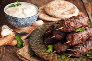 Beef Kabob Platter - delivery menu