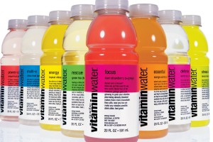 Vitamin Water - delivery menu