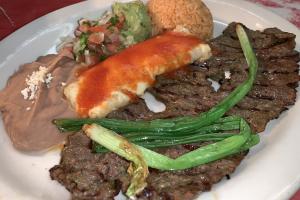 Bistec Tampiqueña - delivery menu