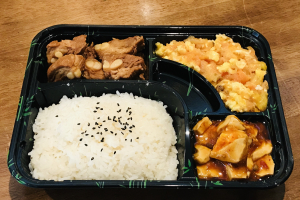 A. Tomato w. Egg+ Braised Pork Rib + Mapo Toufu - delivery menu