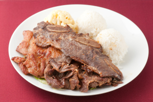 24. Hawaiian BBQ Mix Plate - delivery menu
