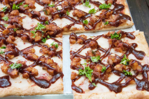 BBQ Chicken Pizza - delivery menu