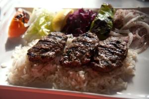 Kofte Kebab Lunch Special Entree - delivery menu