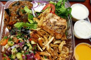 Chicken Kabob Pita - delivery menu