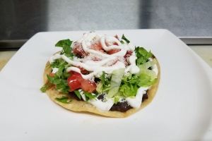 Plain Tostada - delivery menu