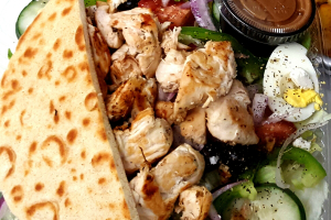 Greek Salad With Grilled Chicken - delivery menu