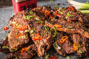 Sizzling Ribs and Egg - delivery menu