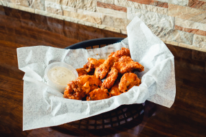 Breaded Buffalo Wings - delivery menu