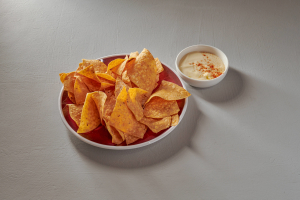 Chips and Queso Dip - delivery menu
