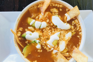 Tortilla Soup - delivery menu
