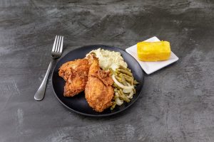 Fried Chicken Leg & Thigh Meal - delivery menu