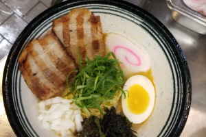 1. Sho-Yu Tonkotsu Ramen - delivery menu