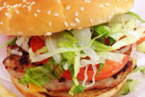 1/3 lb. Turkey Burger - delivery menu