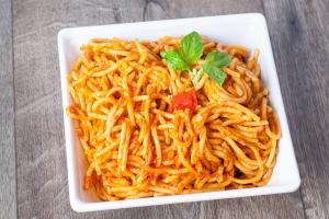 Spaghetti a la Criolla - delivery menu