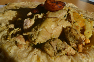 Curry Chicken Roti Wrap - delivery menu